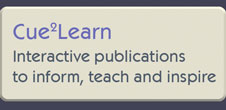 Creative Mediaware Interactive Publication to teach and inform Cue2Learn